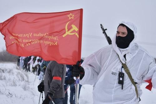 На Берлин! Чебаркульские школьники приняли участие в переходе «Преодоление»