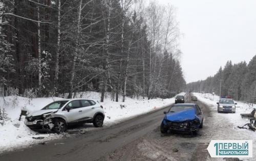 «Нексии» атакуют. В Чебаркульском районе в двух ДТП пострадали четыре человека