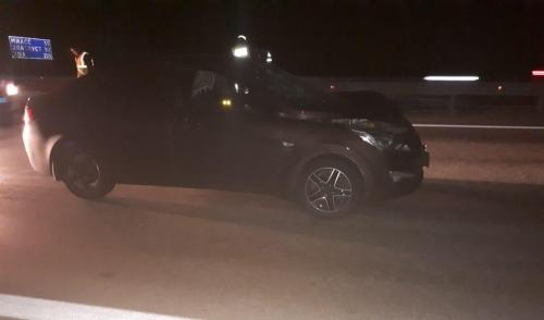 Идущая в темноте. 25-летняя девушка попала под колёса иномарки
