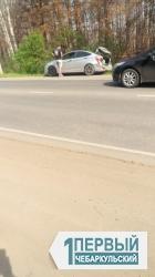 На дорогах жарко. В Чебаркуле произошло массовое ДТП