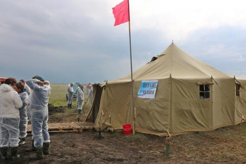 Учебная тревога! В деревне Темир обнаружили очаг африканской чумы свиней