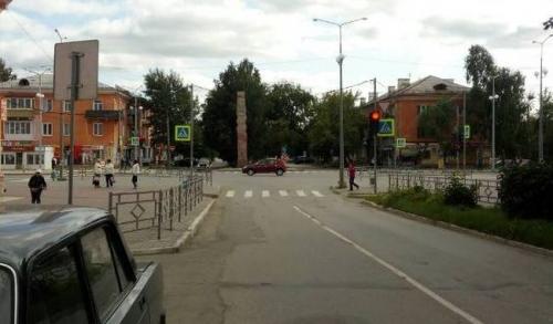 Ещё легко отделался. На Ленина – Карпенко внедорожник сбил 11-летнего велосипедиста