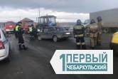 С «Белорусом» не поспоришь. В столкновении трактора и «семёрки» пострадали два человека