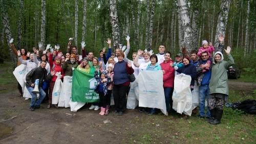 «Жемчужине Южного Урала» почистили оправу. Озеро Большой Кисегач освободили от двух тонн мусора