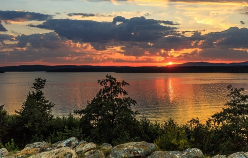 Гляжу в озёра синие… Символами Чебаркуля и Чебаркульского района признаны два красивейших водоёма